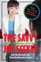 Savvy Interviewing PDF
