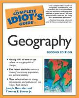 The Complete Idiot s Guide to Geography PDF