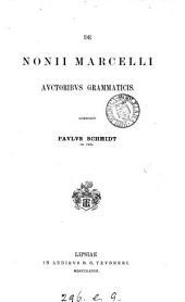 De Nonii Marcelli auctoribus grammaticis