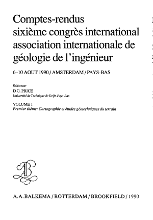 Engineering geological mapping and site investigation PDF