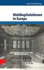 Wahlkapitulationen in Europa