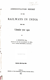 Report on Indian Railways