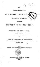 The Introductory Discourse and Lectures ...: 1830