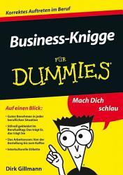 Business Knigge f  r Dummies PDF