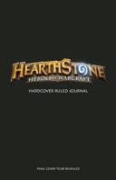 Hearthstone Hardcover Ruled Journal