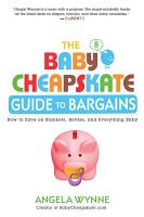 The Baby Cheapskate Guide to Bargains PDF