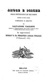 Amore e Psiche: ballo mitologico in tre parti, diviso in nove scene : da rappresentarsi nell'I. R. Teatro alla Scala il Carnevale 1837