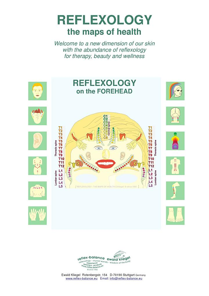 REFLEXOLOGY on the FOREHEAD