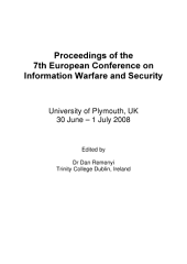 ECIW2008-Proceedings of the 7th European Conference on Information Warfare and Security: ECIW