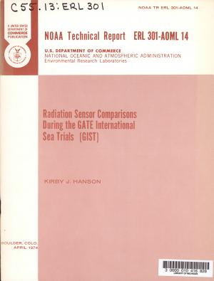 Radiation Sensor Comparisons During GATE International Sea Trails  GIST