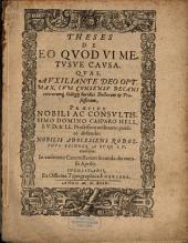Theses de eo quod vi metusve causa