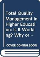 Total Quality Management in Higher Education PDF