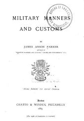 Military Manners and Customs