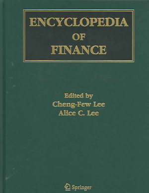 Encyclopedia of Finance PDF