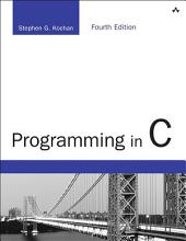 Programming in C: Edition 4