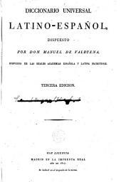 Diccionario universal latino - español
