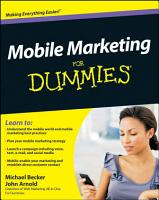 Mobile Marketing For Dummies PDF