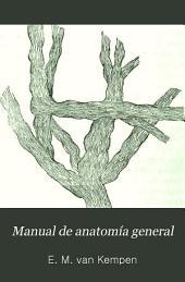 Manual de anatomía general