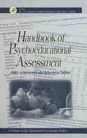Handbook of Psychoeducational Assessment PDF