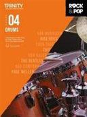 Trinity Rock & Pop 2018 Drums Grade 4