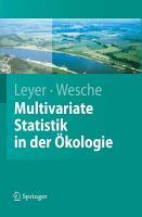 Multivariate Statistik in der   kologie PDF