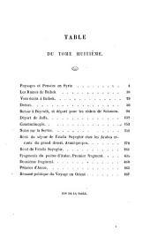 Souvenirs, impressions, pensées et paysages pendant un voyage en Orient, 1832-1833, ou, Notes d'un voyageur: Volume2
