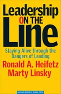 Leadership on the Line Book