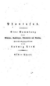 Phantasus: eine Sammlung von Mährchen, Erzählungen, Schauspielen und Novellen, Band 1