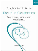 Double concerto for violin  viola  and orchestra PDF