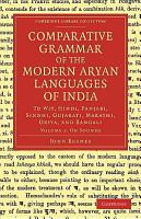 Comparative Grammar of the Modern Aryan Languages of India PDF