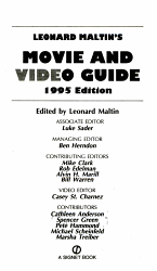Leonard Maltin S Movie And Video Guide Book PDF