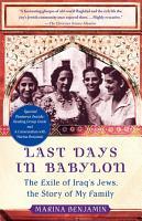 Last Days in Babylon PDF