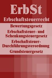 Erbschaftsteuerrecht - ErbSt