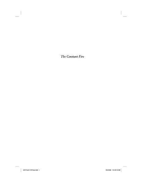 The Constant Fire PDF