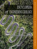 Encyclopedia of Engineering Geology Book