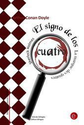El signo de los cuatro/La marque des quatre (Edición bilingüe/Édition bilingue