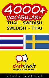 4000+ Thai - Swedish Swedish - Thai Vocabulary