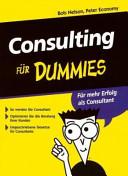 Consulting f  r Dummies PDF