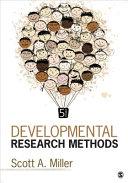 Developmental Research Methods PDF