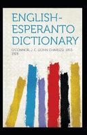 English-Esperanto Dictionary Annotated