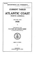 Current Tables  Atlantic Coast  North America PDF