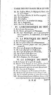 Oeuvres de François de La Mothe Le Vayer: Volume1
