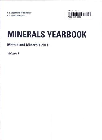 Minerals Yearbook PDF