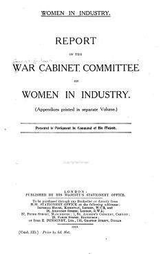 Women in Industry PDF