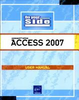 Access 2007 PDF