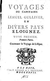 Voyages du capitaine Lemuel Gulliver,: en divers pays eloignez, Volume2