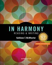 In Harmony: Reading and Writing, Edition 2
