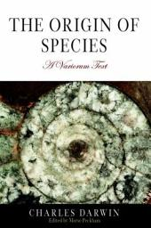 The Origin of Species: A Variorum Text