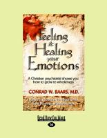 Feeling and Healing Your Emotions PDF