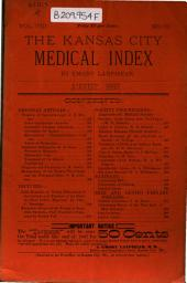 The Kansas City Medical Index-lancet: Volume 8, Issue 8